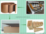Type Fingerless gifle simple de papier cartonné ondulé complètement automatique