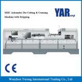 Macchina tagliante di serie di Mhc & di piegatura automatica con la spogliatura con il sistema di riscaldamento