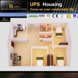 Bonne villa moderne à quatre chambes de structure métallique d'isolation thermique pour l'Egypte