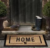 Le porte esterne dell'interno dell'entrata di benvenuto dell'entrata si dirigono la stampa su ordinazione di giardinaggio della fibra di cocco della noce di cocco della fibra dei Cochi della Camera/stampa/Doormats stampati