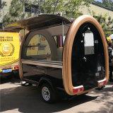 Panier de nourriture mobile à la vente chaude personnalisée, remorques de nourriture, fourgon à café