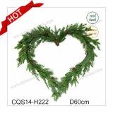 Dia. 50cm New Natural Plastic Christmas Ornaments Decoração de festa e feriado