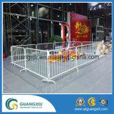 Garantia comercial Barricada de metal galvanizado de alta qualidade