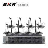 KxD818 Pll 8CH UHFの無線会議システム