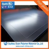 Folha desobstruída do PVC de Matt, folha rígida gravada transparente do PVC para a impressão do Silk-Screen