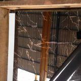 Pulido espejo Hoja de acero inoxidable de pared paneles que cubren