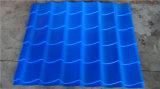 Ultime mattonelle di tetto del metallo di stile Dx1100 2017 che fanno rullo che forma macchina per il tetto di colore
