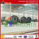 3 ESSIEUX 27m3- 57m3 de bitume semi-remorque-citerne/réservoir d'asphalte
