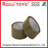 Materielles anhaftendes Verpackungs-acrylsauerband der Brown-Farben-BOPP