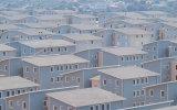速いインストール長い生命アフリカのプレハブの家の生きているホーム構築
