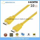 Oro 24k de alta velocidad de cable HDMI precio de fábrica