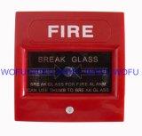 비상사태 틈 유리제 수동 화재 경고 외침 점