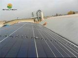 72W rotolano in su il laminato solare flessibile per la soluzione del tetto della membrana di Tpo (PVL-72)