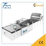 Machine de découpage de tissu et de tissu non-tissé chaud automatique de ventes de machine de découpage de tissu de feuilles