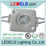 Módulo LED con certificación UL 12V de 1,6 W LED de retroiluminación Lightbox para el módulo de caja de luz signo, de 5 años de garantía, Powered by/Nichia LED Osram