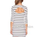 卸し売り非対称的なしまのある服に着せる高品質の女性の秋
