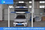 Подъем стоянкы автомобилей автомобиля 4 столбов гидровлический