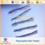 Fibra Twisted del polipropilene concreto della fibra anziché fibra d'acciaio