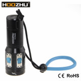 Hoozhu CREE LED submarino Luz 2600 Lm Buceo Antorchas para Vídeo V13