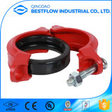 FM UL  Grooved  Ductile  Iron  Pipe  Fitting  Connettere le flange