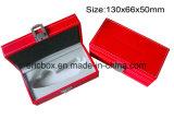Jy GB50 rojo PU Storge de Papel Caja de regalo