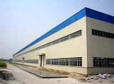 Atelier en caoutchouc préfabriqué de structure métallique de grande envergure d'OIN (KXD-SSW107)