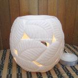 Bevanda rinfrescante di aria di ceramica bianca dello scaldino dell'olio della candela (CB-02-04)