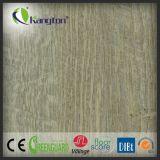 Plancher sain durable imperméable à l'eau de vinyle de plastiques de PVC de Lvt de cliquetis de couplage de 4mm