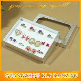 Fenêtre PVC Anneau boîte cadeau d'affichage pour les bijoux