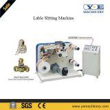 Machine de fente de collant d'étiquette adhésive