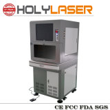 안전한 모형 닫히는 유형 섬유 Laser 금속 표하기 기계