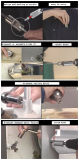 Сжатие волшебства ключа металла ключа храповика гнезда универсалии сжатия 7-19mm