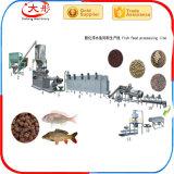 Nourriture de poissons de flottement automatique faisant la ligne de production à la machine