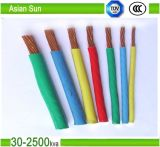 Single Core Multi-Strand aislados con PVC AWG14/AWG12 Cable Thw
