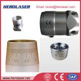 Visual CCD располагая машину маркировки лазера волокна системы 30W выравнивания оптическую для частей Presicion ювелирных изделий