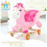 Kids'gift를 위한 음악 행복한 채워진 흔드는 Unicorn 동물 의자