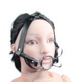 Geschlechts-Spielwaren-Knechtschaft-Zunge-erwachsene erotische Produkte öffnen Mund-Produkt-Geschlechts-Gag ohne Kugel