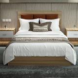 Preiswertes Hotel-hölzernes Bett verwendet für Schlafzimmer-Möbel
