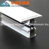 Perfis de vidro curvo de alumínio