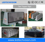 Il segno del tetto LED dell'automobile per la pubblicità 3G/4G della soluzione P5mm esterna impermeabilizza