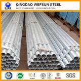 Caliente sumergido galvanizado alrededor del tubo de acero