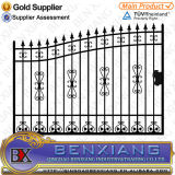 Black Power Coating Square Steel Pipes Gates