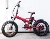 Châssis en alliage 20 pouces vélo électrique pliant avec graisse pneumatique