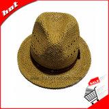 Fedora Sombrero de Paja de papel