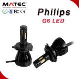 Farol do diodo emissor de luz da ESPIGA do farol 48W 4800lm H4 H7 H11 H13 9004 do diodo emissor de luz da ESPIGA de Guangzhou Matec