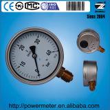 un manometro liquido resistente di vibrazione di 100mm di un intervallo delle 40 barre