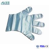 De PE transparente populares/Luvas de HDPE com a FDA, Marcação para utilização em salas brancas