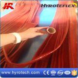 ガラス繊維の絶縁体の袖の上塗を施してあるシリコーン