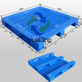 1300X1300X160mm Schwer-Aufgabe Plastic Pallets mit 3 Runners und Open Dcks