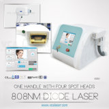 Portable Diode Laser Hair Removal permanent , 808nm Laser Machine Epilation Beauté
